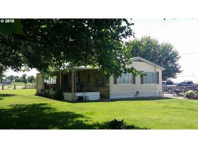 Hermiston Single Family Home For Sale: 29763 Minnehaha Rd