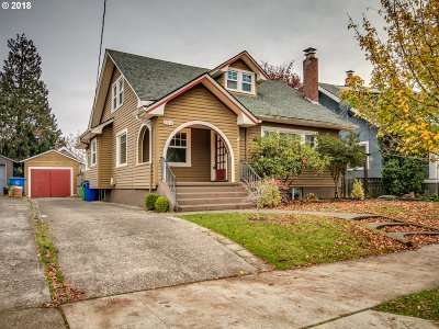 Portland Single Family Home For Sale: 200 NE 71st Ave