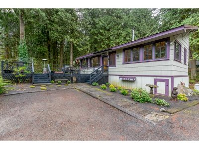 Rhododendron Single Family Home For Sale: 26988 E Still Creek Rd