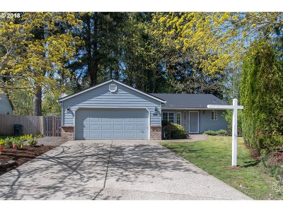 Beaverton Single Family Home For Sale: 21573 SW Gregory Dr