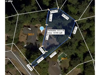 West Linn Residential Lots & Land For Sale: Cascade St