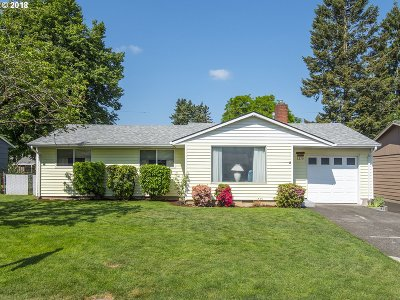 Portland Single Family Home For Sale: 3279 SE 177th Ave