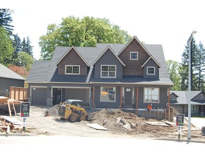 Oregon City Single Family Home For Sale: 14140 Quail Ct #Lot6