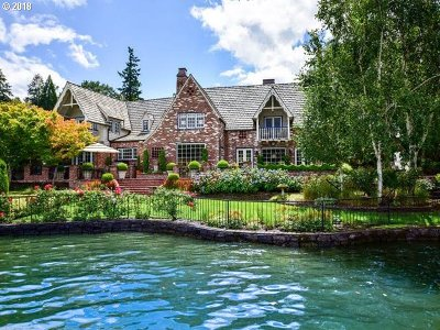 Lake Oswego Single Family Home For Sale: 919 Westpoint Rd