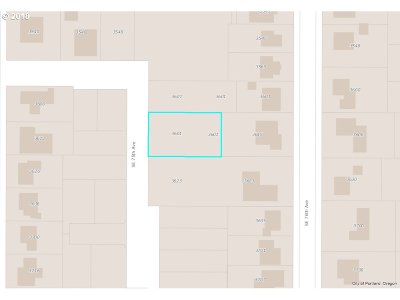Portland Residential Lots & Land For Sale: 3601 SE 76th Ave #29