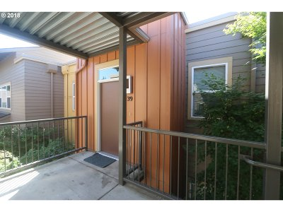 Eugene Condo/Townhouse For Sale: 327 Rustic Pl #39