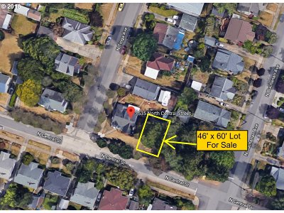 Portland Residential Lots & Land For Sale: 7535 E N Central St