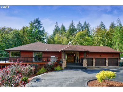 Woodland Single Family Home For Sale: 6531 Green Mountain Rd