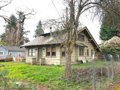 Single Family Home For Sale: 12849 SE 25th Ave