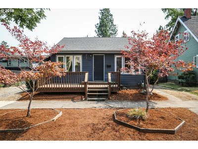 Eugene Single Family Home For Sale: 1957 Emerald St