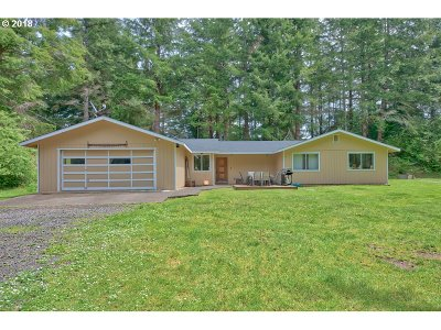 Coos Bay Single Family Home For Sale: 95762 Stock Slough Ln