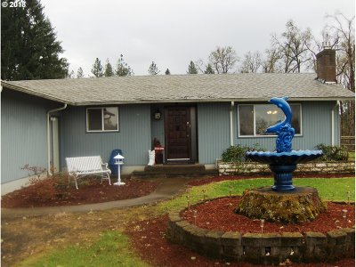 Eugene Single Family Home For Sale: 26716 Cantrell Rd
