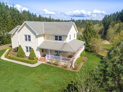 North Plains Single Family Home For Sale: 15060 NW Mason Hill Rd