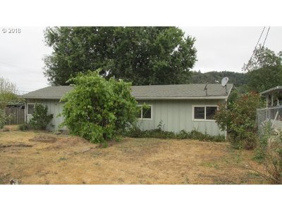 Roseburg OR Single Family Home For Sale: $89,900