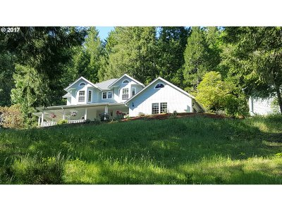 Cottage Grove, Creswell Single Family Home For Sale: 32507 Wilson Creek Rd