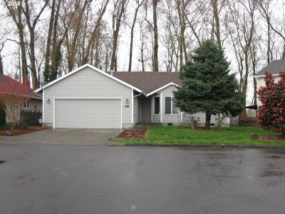 Woodburn Single Family Home Pending: 1198 Marylynn Way