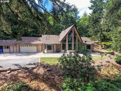 Molalla Single Family Home For Sale: 16540 S Stone Hill Dr