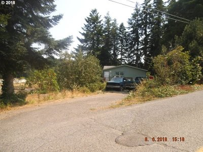 Coos Bay Single Family Home For Sale: 63111 Fruitdale Rd