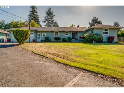 Milwaukie Single Family Home For Sale: 14014 SE Rupert Dr