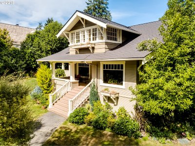 Eugene Single Family Home For Sale: 2089 Potter Street