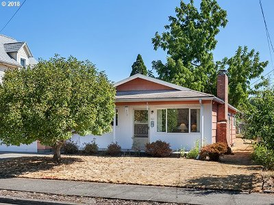 Portland OR Single Family Home Sold: $365,000