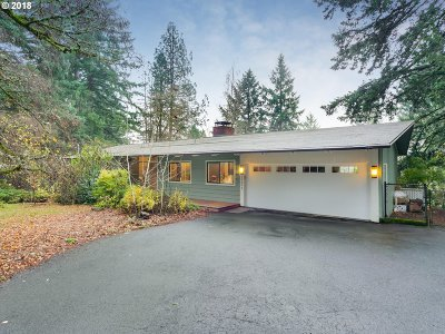Portland Single Family Home For Sale: 10393 SW Ridgeview Ln