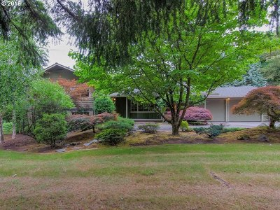 Tigard Single Family Home For Sale: 15165 SW Bull Mountain Rd