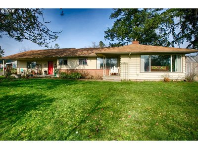 Cornelius Single Family Home For Sale: 30765 SW Unger Rd