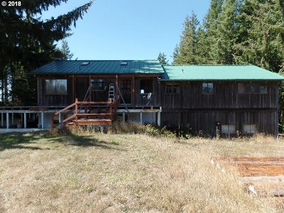 Port Orford Single Family Home For Sale: 93746 Grassy Knob Rd