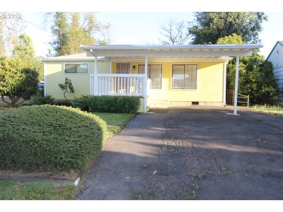 Springfield Single Family Home For Sale: 2629 J St