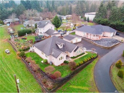 Cowlitz County Single Family Home For Sale: 215 Paxton Rd