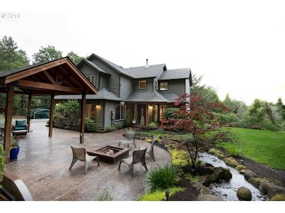 Yamhill Single Family Home For Sale: 16767 NW Rockyford Rd