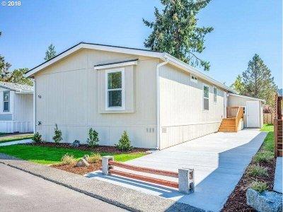 Eugene Single Family Home For Sale: 1415 S Bertelsen Rd #53