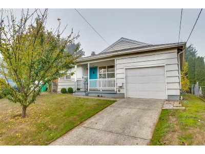 Multnomah County Single Family Home For Sale: 8939 N Wall Ave