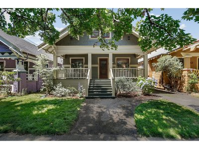 Portland Single Family Home For Sale: 1849 SE 43rd Ave