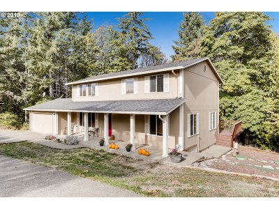 North Plains Single Family Home For Sale: 18989 NW Pumpkin Ridge Rd