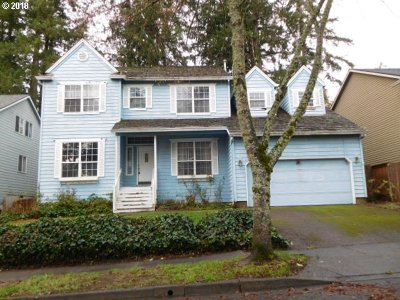 Beaverton Single Family Home For Sale: 9855 SW 153rd Ave