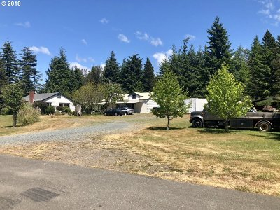Single Family Home For Sale: 47611 Highway 101