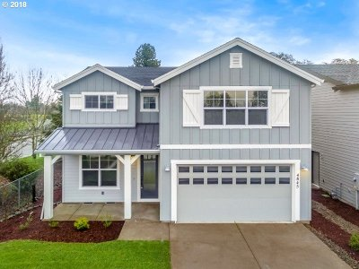 Single Family Home For Sale: 4845 SE Rosewood St