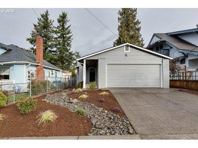 Portland Single Family Home For Sale: 7503 SE Tolman St