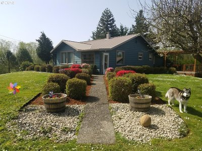 Coquille OR Single Family Home For Sale: $265,000