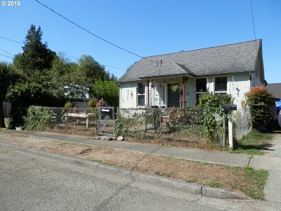 Coquille Single Family Home For Sale: 1175 N Elliott St
