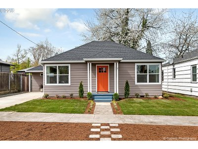 Single Family Home For Sale: 4421 NE 65th Ave