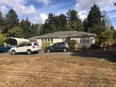Coos Bay Single Family Home For Sale: 62931 Crown Point Rd