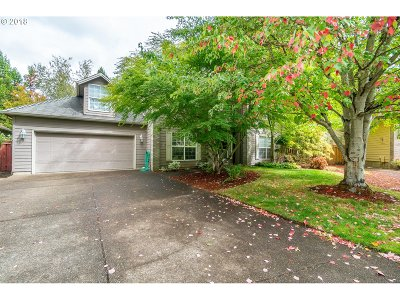 Keizer Single Family Home Sold: 442 Lakefair Cir