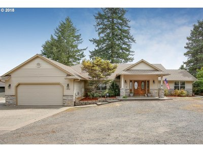 Clackamas County Single Family Home For Sale: 14820 SE Bluff Rd