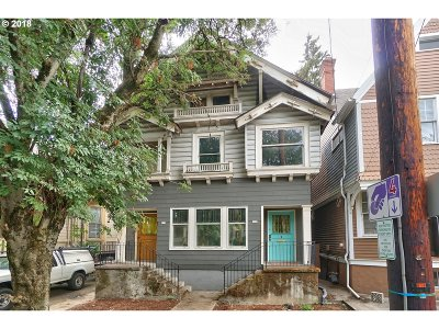 Portland Multi Family Home Pending: 616 NW 22nd Ave