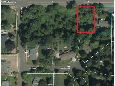Tigard Residential Lots & Land For Sale: SW McDonald St