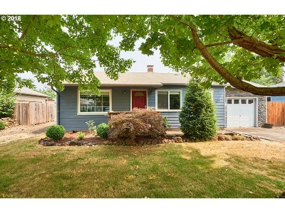 Keizer Single Family Home Sold: 5070 7th Ave
