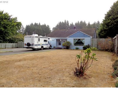 Coos Bay Single Family Home For Sale: 92124 Cape Arago Hy